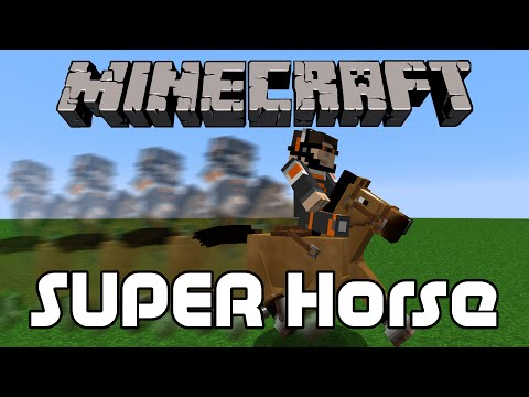 How to Spawn a Super Horse in Minecraft