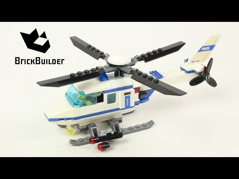 Lego City 7741 Police Helicopter - Lego Speed Build