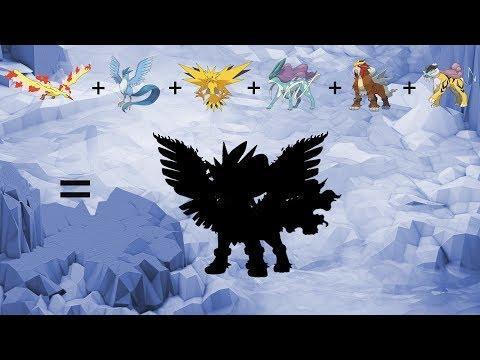 Requests #49 - Fusemon: Legendary Birds + Legendary Beasts