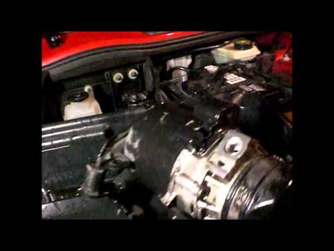 mini cooper noise coming from the power steering pump whent the engine turns off,
