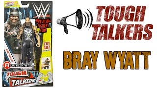 WWE FIGURE INSIDER: Bray Wyatt - Mattel WWE Tough Talkers Series 1!