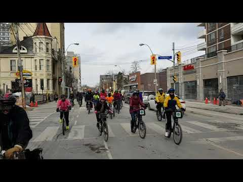 Cycle Toronto's Coldest Day of the Year Ride - 2018