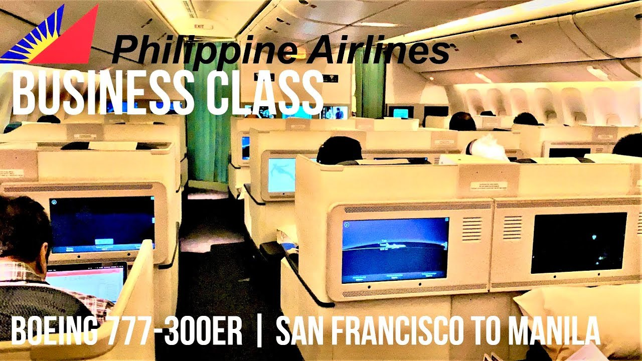 PHILIPPINE AIRLINES BUSINESS CLASS BOEING 777-300ER | SAN FRANCISCO TO MANILA