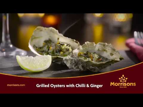 Valentine's Day | Chilli And Ginger Oysters Recipe | Morrisons