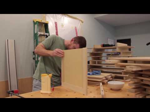 DIY Shaker Cabinet Doors - Part 5 Assembly