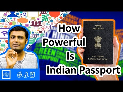 How Powerful Indian Passport and all about it also Why Queen of England don't Need Passport. (Hindi)