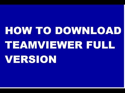 How To Download Teamviewer full version free In Hindi/urdu