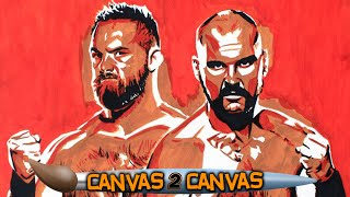The Revival goes hard on the canvas: WWE Canvas 2 Canvas