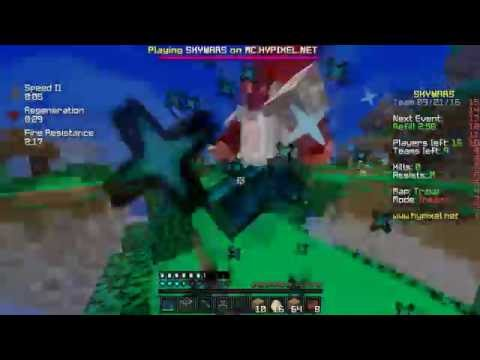 FANS BETRAY ME + FLY HACKERS TAKE OVER!!!   Minecraft SKYWARS