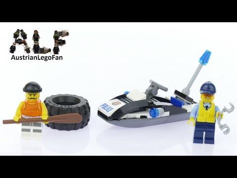 Lego City 60126 Tire Escape - Lego Speed Build Review