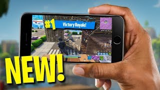 FORTNITE ON YOUR PHONE!