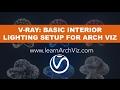 Vray Lights Tutorial: Basic Vray Lighting Setup for Architectural Interior