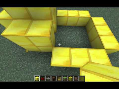 Redstone Lamp Night Time Security