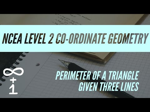 Find Perimeter of Triangle formed by 3 lines