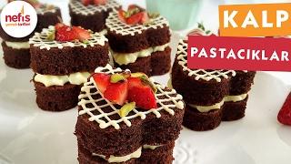 Kalp Pastacıklar - Pasta Tarifleri - Nefis Yemek Tarifleri