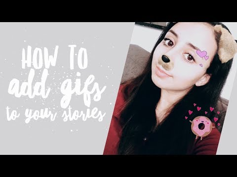 How to add animated GIFs to your Instagram Stories