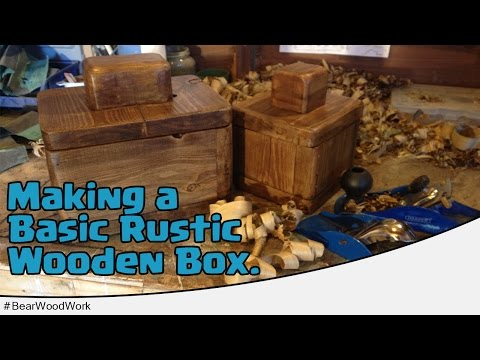 How to Make a Rustic Box from Reclaimed Wood