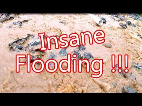 Crazy NC Flooding!  -Rain Go Away!