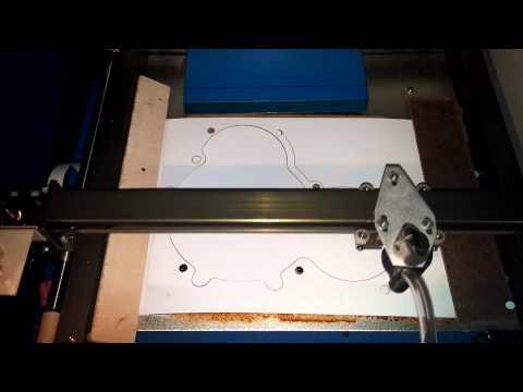 Laser cut gasket test