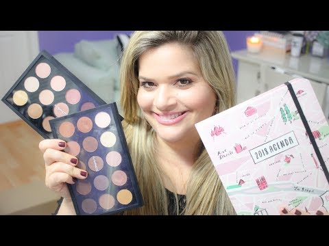 October 2017 Beauty Favorites / October Boxy Charm and Ipsy Glam Bag / New Kate Spade Planner