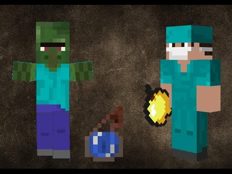 Minecraft how to cure a zombie villager