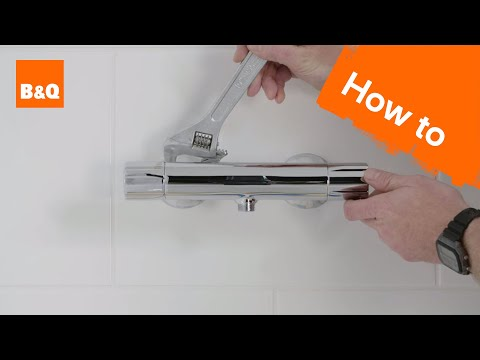 How to install a bar mixer shower