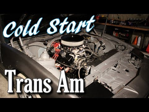 Cold Start of Trans Am and Jordan's Modified Valve Covers