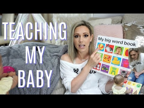 HOW TO TEACH A BABY/TODDLER LANGUAGE & TO TALK| Tres Chic Mama