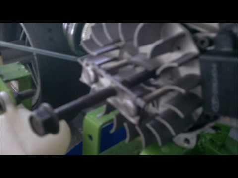DIY SSCUSTOMS..HOW TO REMOVE A 49CC POCKET BIKE FLYWHEEL W/ TOOL