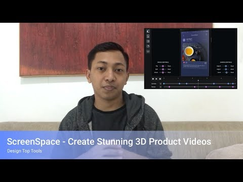ScreenSpace - Create a UI Animation 3D Product Videos
