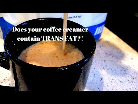 Your coffee creamer probably contains trans fat!.. use this instead, high protein!