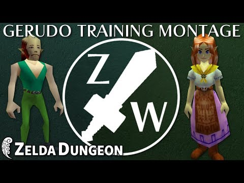 Gerudo Training Montage - Zelda Warfare