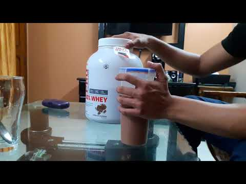 GNC 100% Whey supplement...myth busted