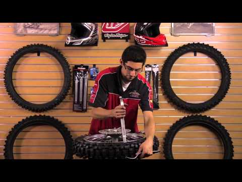 How to Remove and Mount a Dirt Bike Tire Tutorial - ChapMoto.com