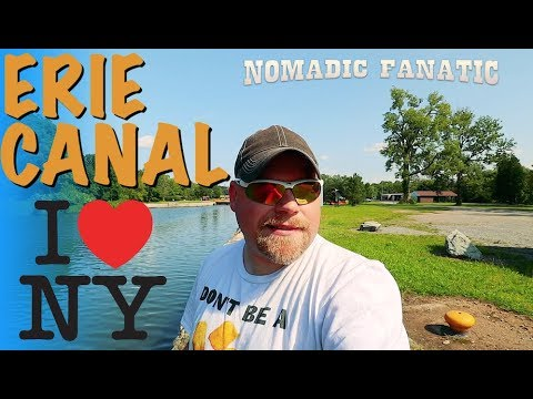 Erie Canal New York Free Camping