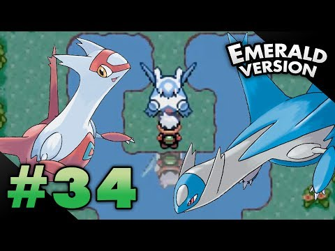 Let's Play Pokemon: Emerald - Part 34 - LATIAS & LATIOS