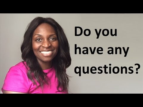 Do you have any questions? How to answer job interview question