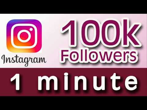 2018 How To Get 100% unlimited auto Instagram followers 1 minute