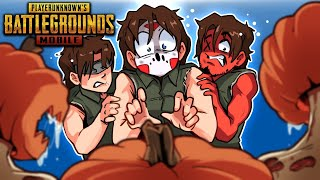 THE WALKING DEAD ON PUBG MOBILE! (Funny Moments with Cartoonz & Ohm)
