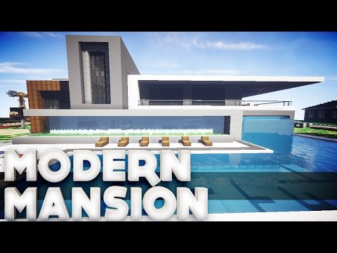 Minecraft: How to Build a Modern House - Tutorial 2017