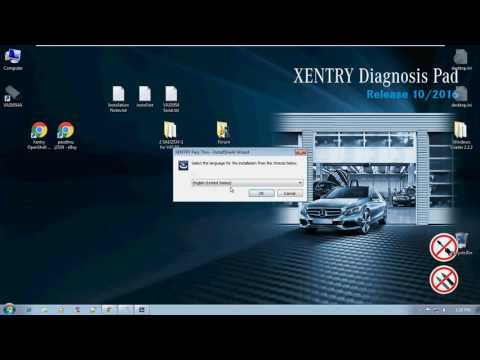 Windows 7 x86 Xentry PassThru Installation Part 1
