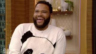 Anthony Anderson is Obsessed with Shoes