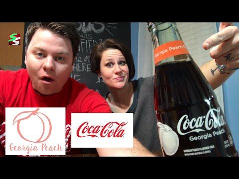 Coca-Cola Georgia Peach Flavor Review