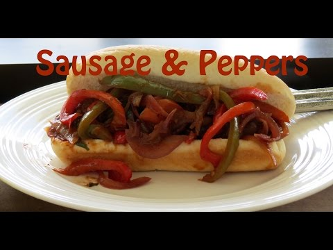 Sausage and Peppers Recipe -- Italian Sausage -- The Frugal Chef