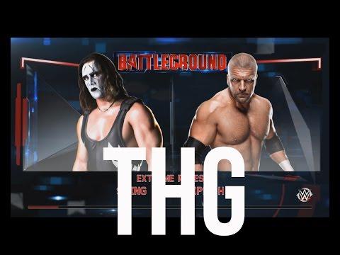 The Hindi Gamer - WWE 2k15 Sting v/s Triple H - Extreme Rules | PS4