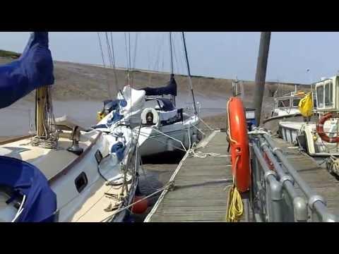 Sailing Cardiff to Burnham on Bristol Channel