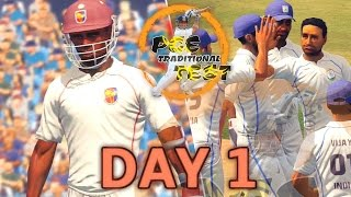 (GAMING SERIES) INDIA v WEST INDIES TEST MATCH DAY 1 - PGE YEARLY TRADITIONAL TEST MATCH