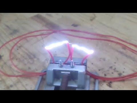 Ebay high voltage pulse transformer - 12v DC to 500kv