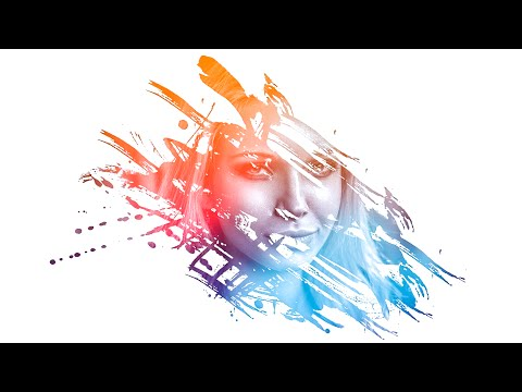 Photoshop | Amazing Photo Effects Paint Splash on face using Brush