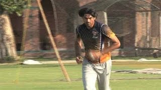 Dunya News-Fast Bowler Muhammad Irfan resumes training